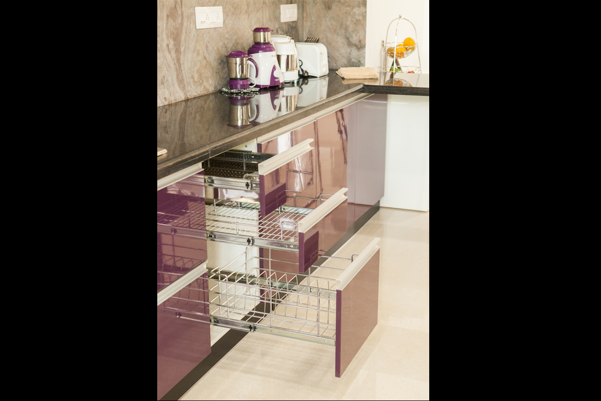 Customized Modular Kitchen Design · Kitchen Accessories